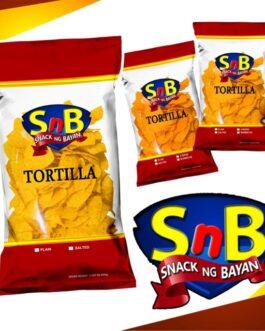 SnB Tortilla Chips Plain 500 g