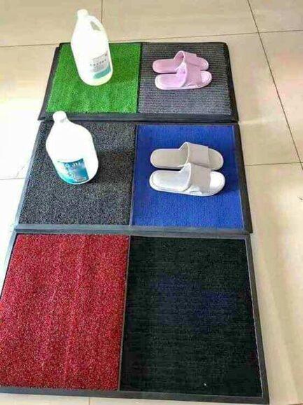 2in1 disinfectant mat