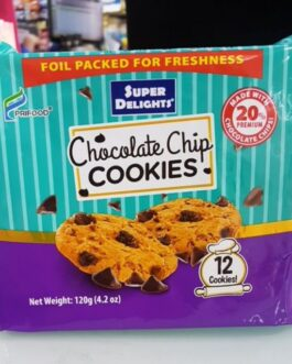 Super Delights Chocolate Chip Cookies 120 g
