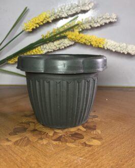 Durable Green Plastic Flower Pot