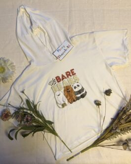 We Bare Bears Cropped Hoodie