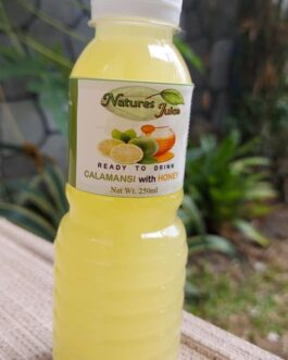 Natures Juice Ready to Drink Calamansi Juice with Honey 250ML (24 bottles in a box)