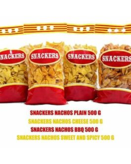 Snackers Barbecue Nachos 500 g