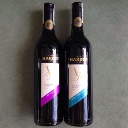 hardys red wine