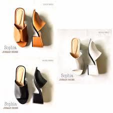 Sophia Block Heel Sandals