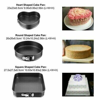 Nonstick Springform Round Cake Pan Set Cheesecake